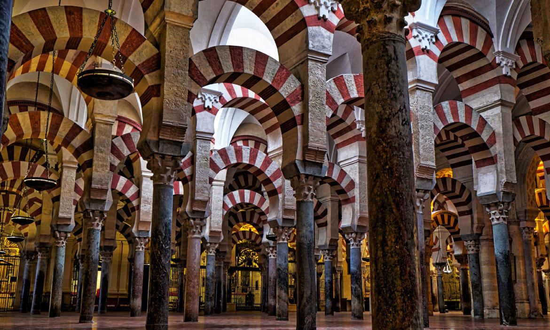 bosque de columnas mezquita de cordoba