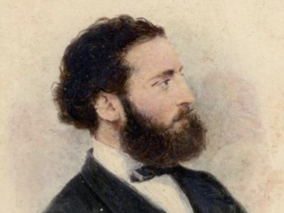 retrato de Antoni Gaudi