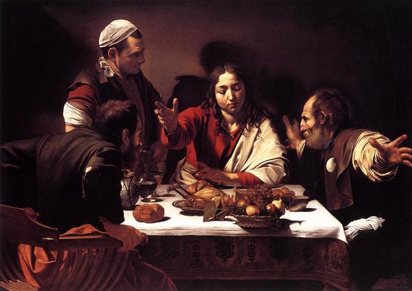 Cena de Emaus. Caravaggio