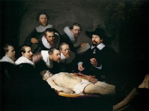 Lección de Anatomía de Rembrandt