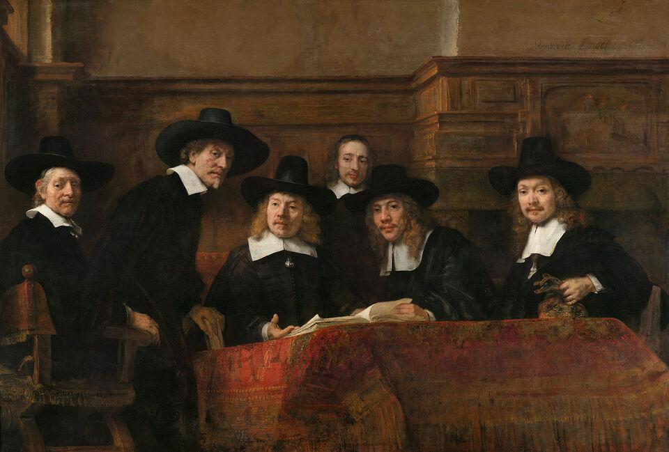 Rembrandt y sus encargos en Amsterdam