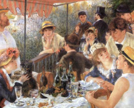 El almuerzo de los remeros Renoir